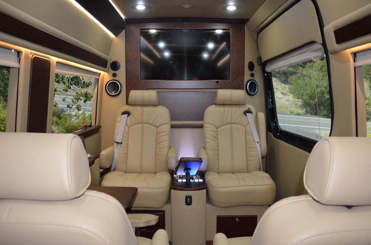 4x4 Luxury Mobile Office Shuttle Family Van West Advertising